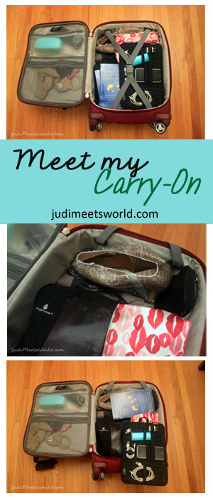 Meet my Carry-On luggage - judimeetsworld