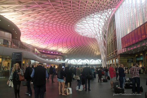 Meet King's Cross Station.