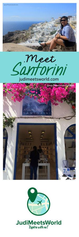 Meet Santorini, Greece.