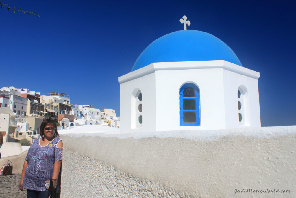 Meet Santorini, Greece.