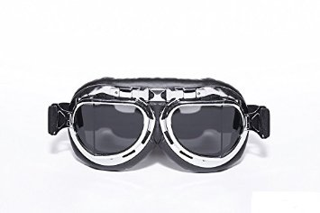Aviator black silver