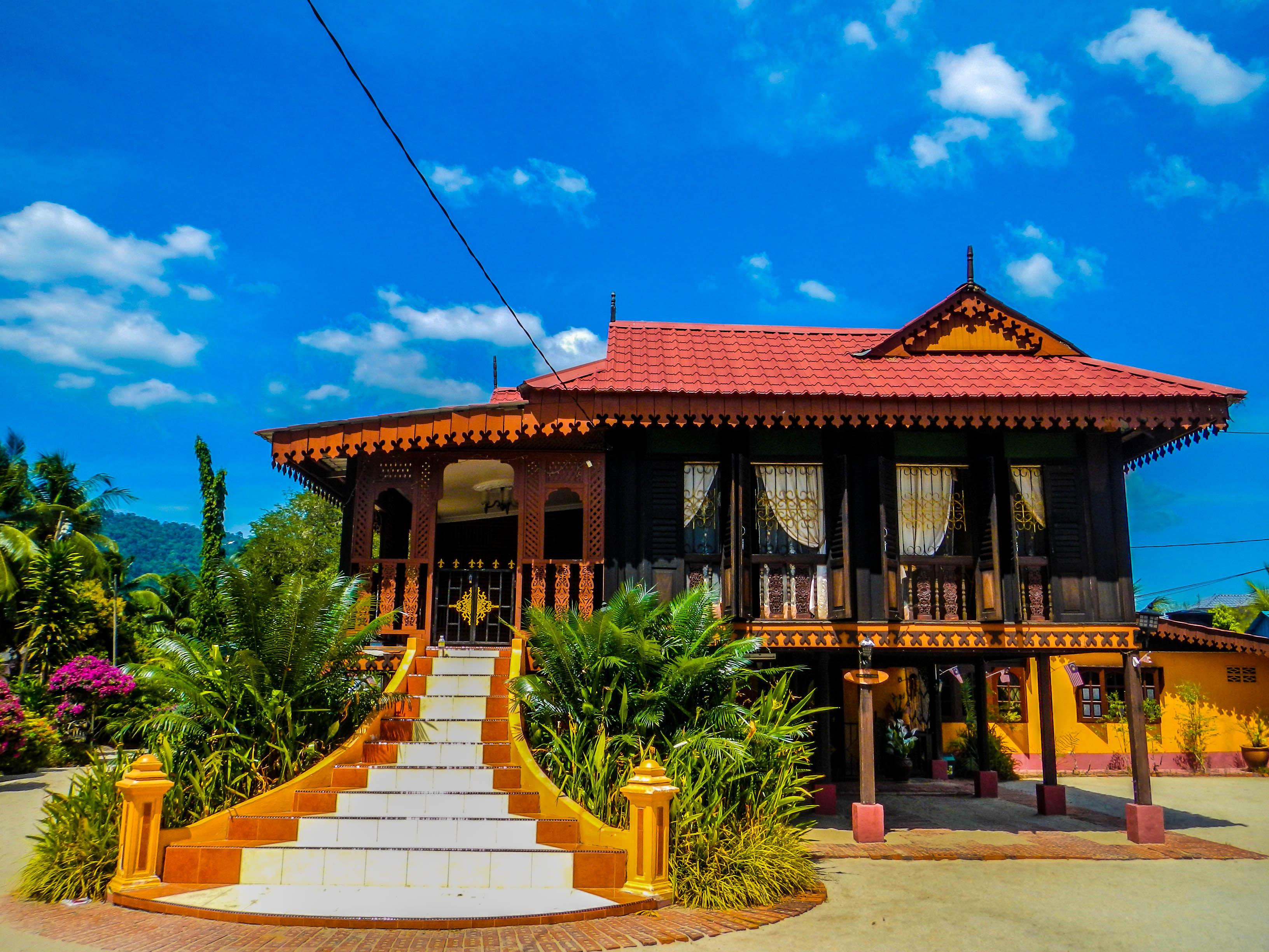 Traditional Malay House  Rumah Tradisional Melayu