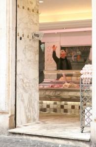 Roman meat market