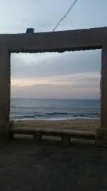 The beach in Naharyia