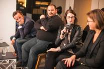 Ursula Riegler (McDonalds Austria), Chris Budgen (Diamond Dogs), Johannes Wesemann (UBER), Judith Denkmayr (VICE VIRTUE Austria)