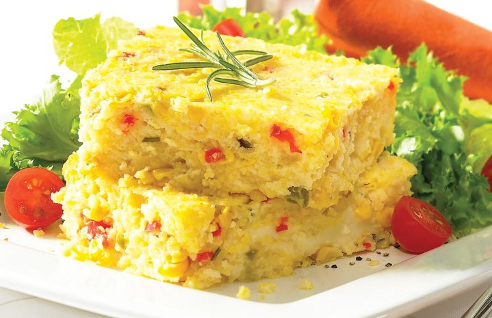 Creamy Polenta with Corn and Chiles