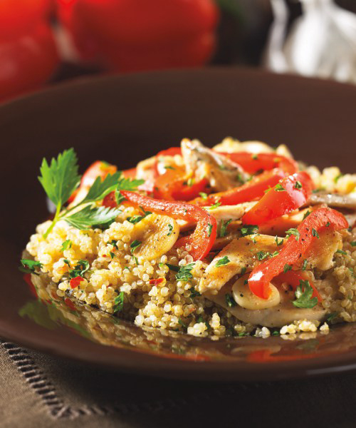 Peppery Chicken Quinoa