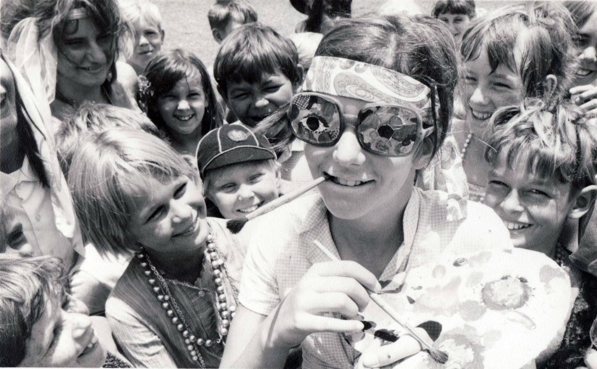 Me on the cover of the Northern Territory News circa 1970