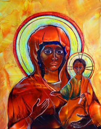 Ethiopian Madonna - Sold
