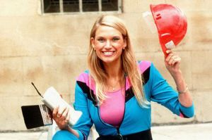 Anneka Rice TV Presenter promoting her new series  -Challenge-