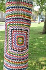 Milford Haven Yarn-bombing