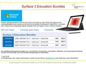 Surface 3 Angebote