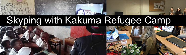 Skype Session with Kakuma Refugee Camp Students