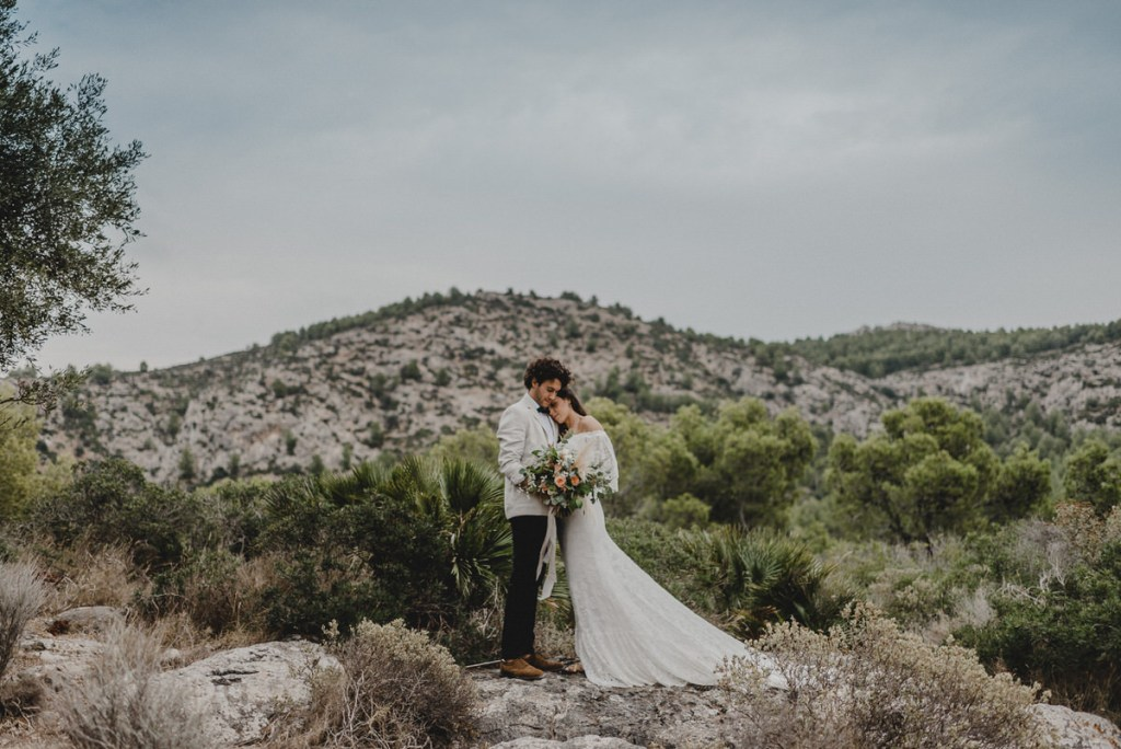 After Wedding Shooting in Spanien