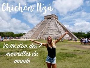 Read more about the article Chichén Itzá : La Merveille du Mexique