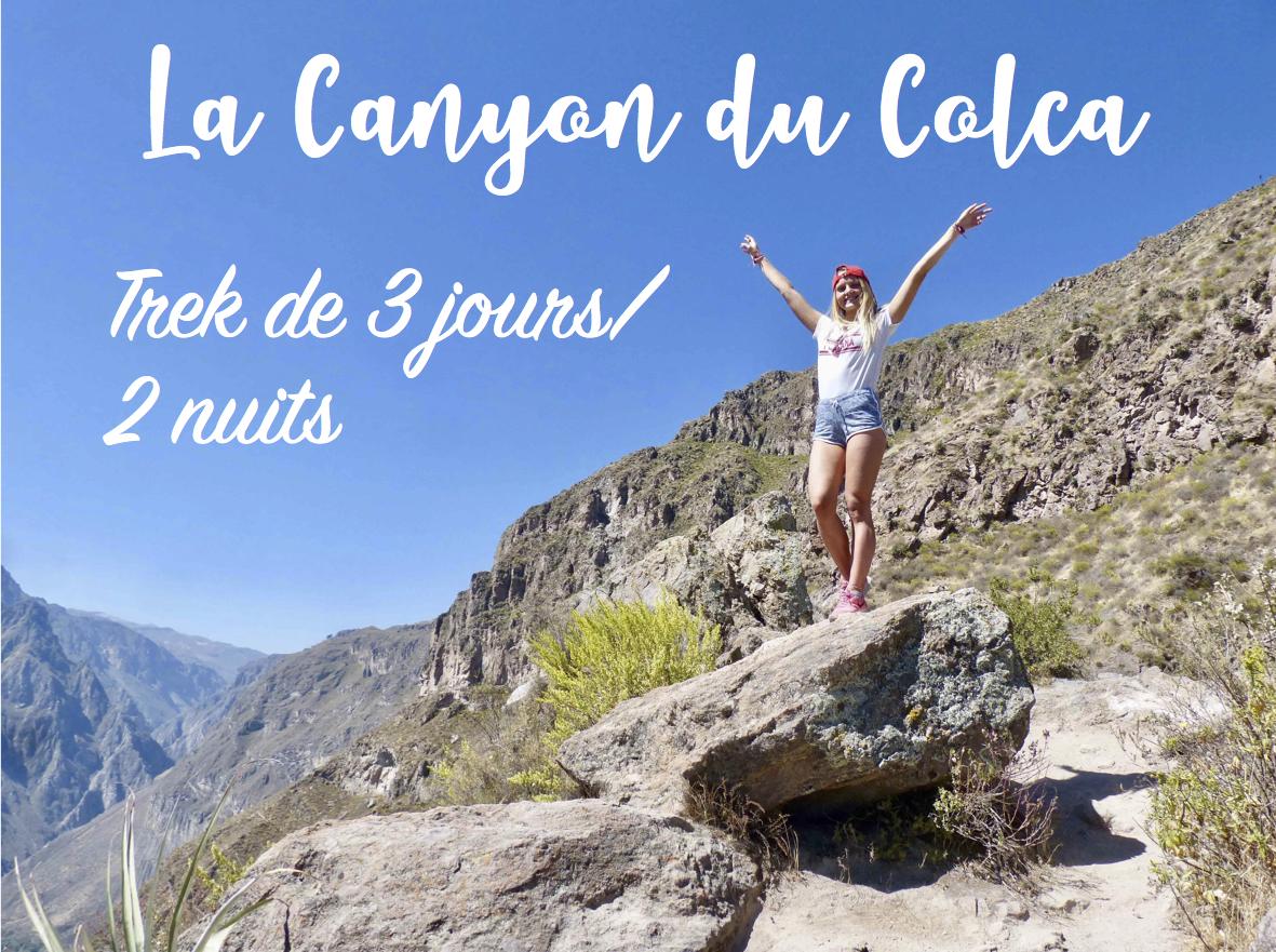 Read more about the article Trek de 3 jours au Canyon du Colca