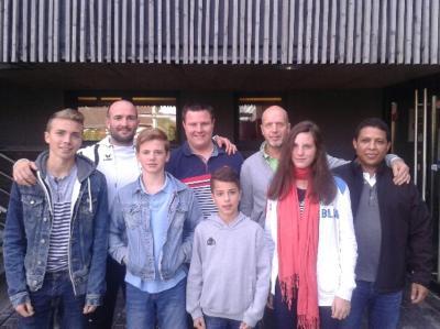 Photo des arbitres et commissaires du club