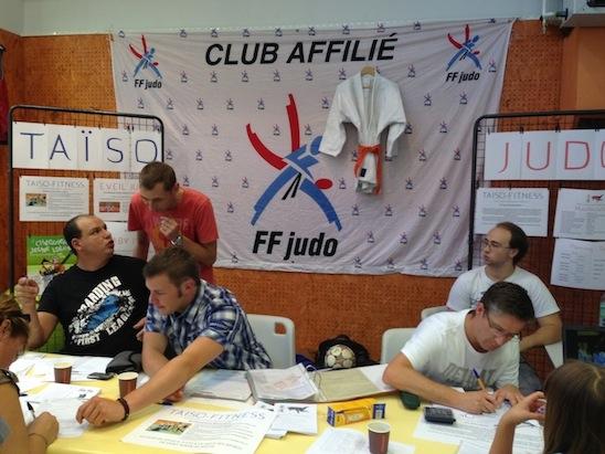 Stand du judo club