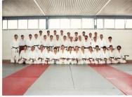 Paco en el Curso Maestro Nacional Judo ( aparecen: Padial, Nano, Mario Muzas, Justo Herguedas, ...)