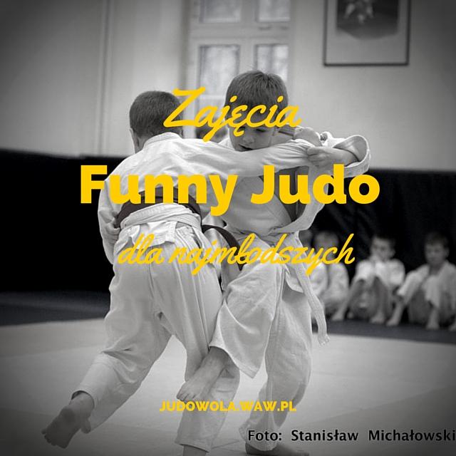 Zajęcia Funny Judo dla najmłodszych