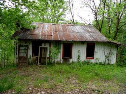 Bryson City abandoned house