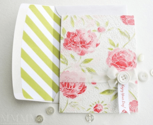 Add a handmade touch to purchased cards.
