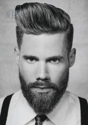 latest men hair and beard trends