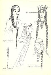 11th century women hair history