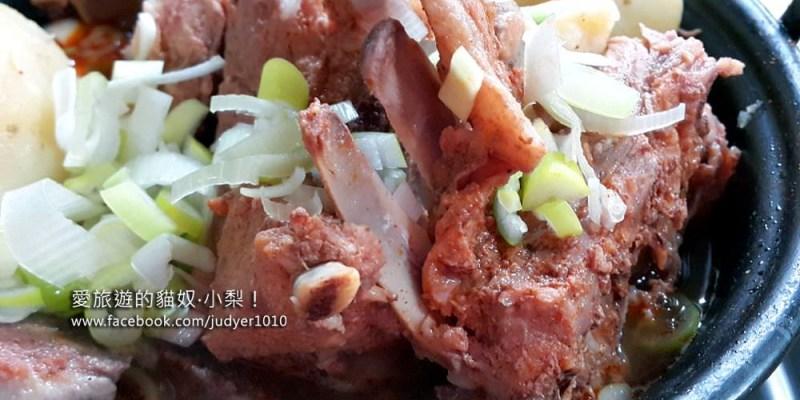 【韓國美食】一味家(일미집) 馬鈴薯排骨湯\淑大入口站,韓國美食節目「食神之路」也推薦的50年傳統好味道!(有一人份的)