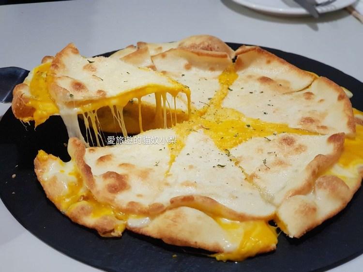 玉仁披薩\甜南瓜起司披薩,好吃到爆!位於景福宮、通仁市場旁的美味~