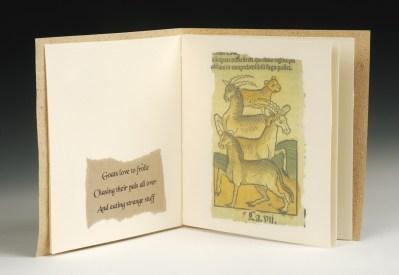 Medieval Chap Book, Detail