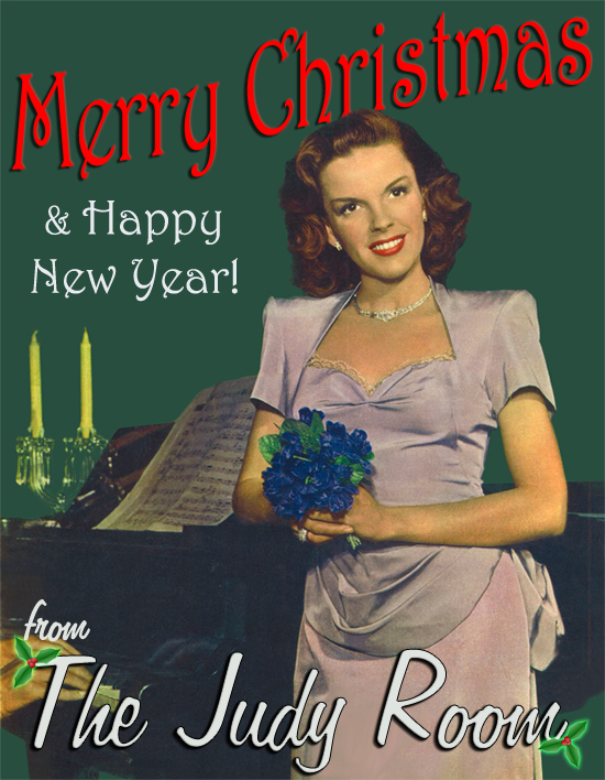 Merry Christmas & Happy New Year from The Judy Room