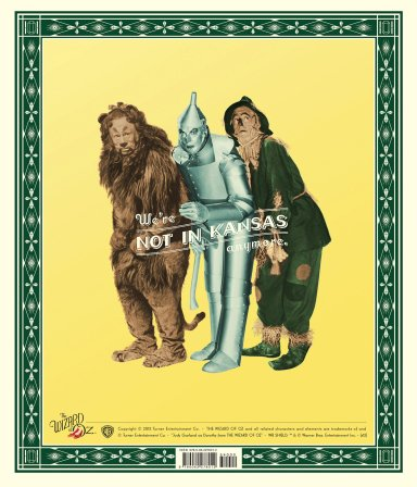 The Wizard of Oz - 75th Anniversary Companion Book back cover art