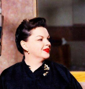 Judy Garland recording