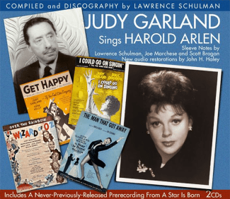 Judy Garland Sings Harold Arlen - JSP Records