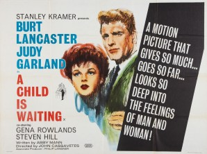 """A Child Is Waiting"" starring Judy Garland and Burt Lancaster"