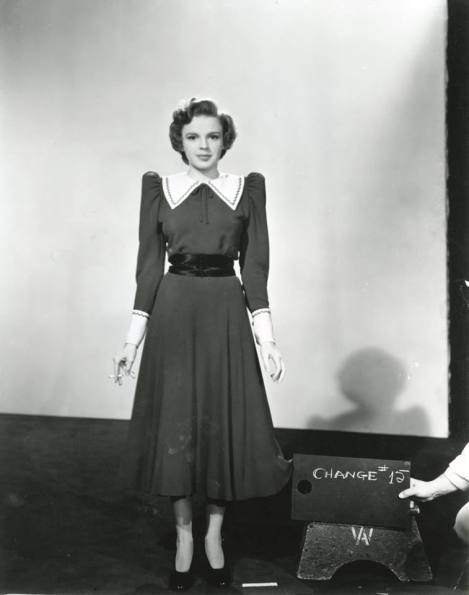 "Judy Garland costume test for ""For Me And My Gal"""