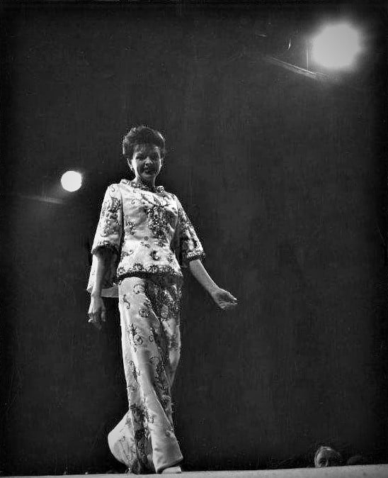 April 13, 1964 Charity fashion show