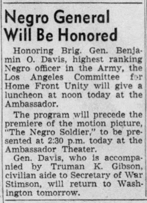 April-13,-1944-Brigadier-General-Benjamin-O.-Davis-Honored-The_Los_Angeles_Times