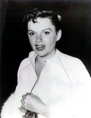 Judy Garland at Romanoff's after Garland's Los Angeles Philharmonic opening night April 21, 1952