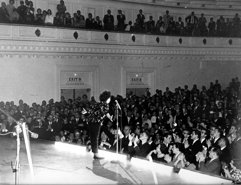 Judy Garland at Carnegie Hall April 23, 1961