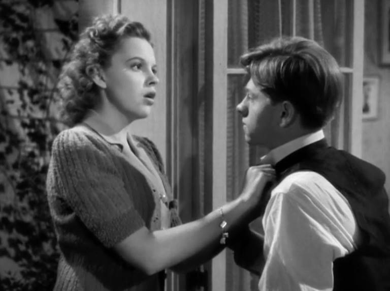 "Judy Garland and Mickey Rooney in ""Babes in Arms"" 1939"