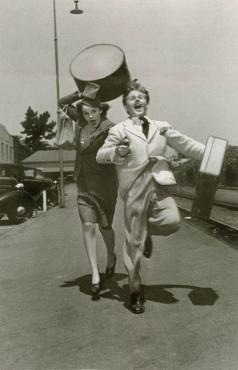 1939 Running for Train Mickey