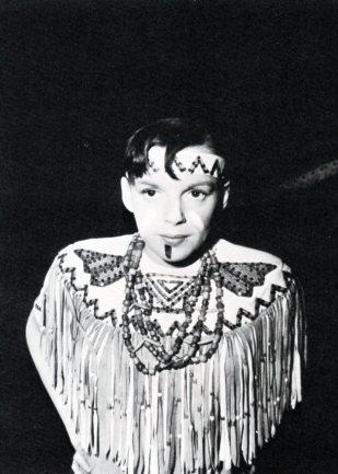 """Judy Garland in """"Annie Get Your Gun"""" May 2, 1949"""