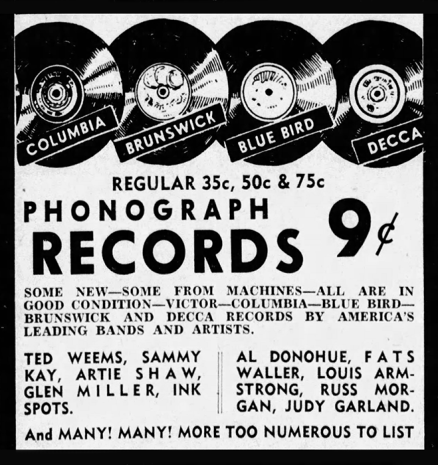 May 21, 1941: Judy Garland records for 9 cents each