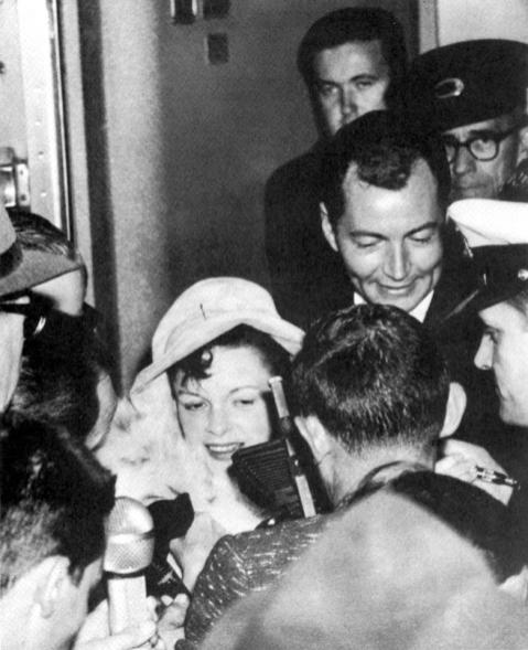 May 21, 1964 leaving Melbourne