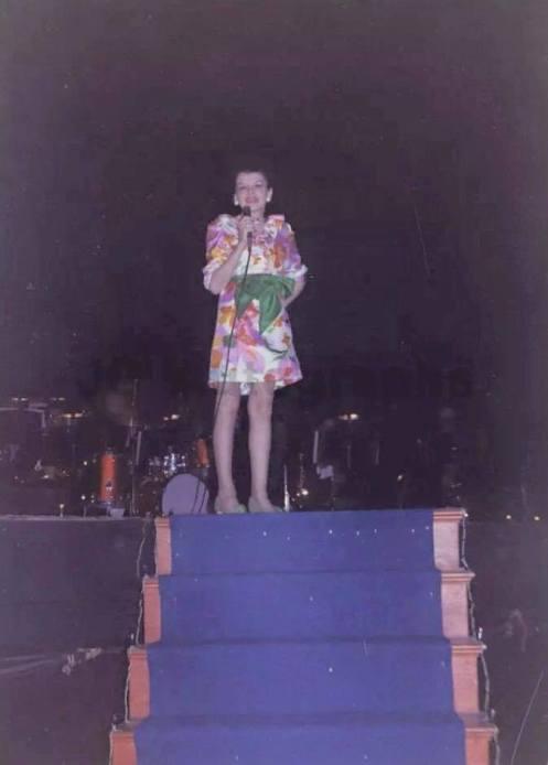 Judy Garland at the Boston Back Bay Theater May 24, 1968