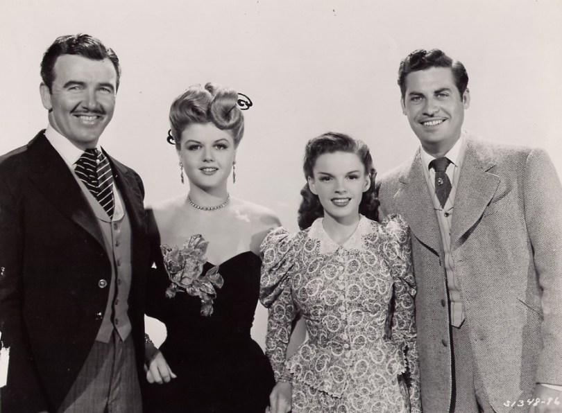 Preston Foster, Angela Lansbury, Judy Garland, John Hodiak - The Harvey Girls 1946