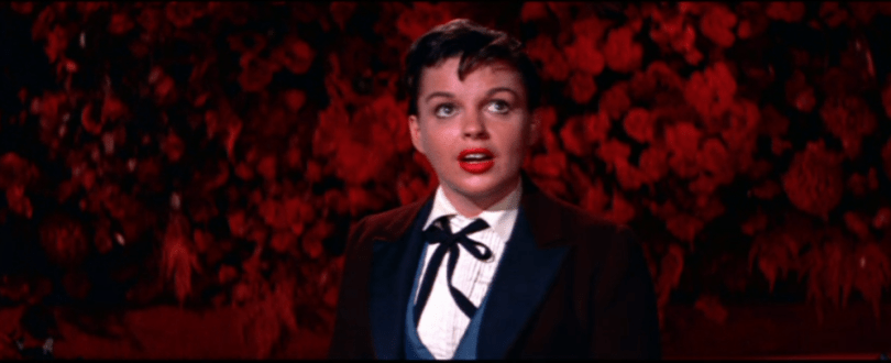 "Judy Garland in ""A Star Is Born"" 1954"