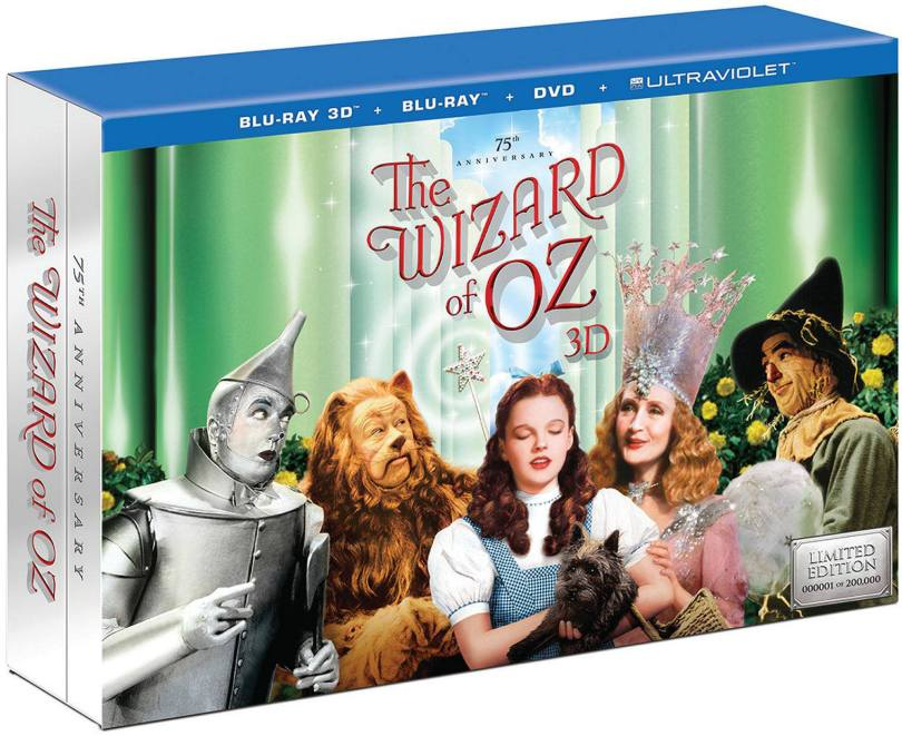 The Wizard of Oz on Blu-ray 75th Anniversary Edtion